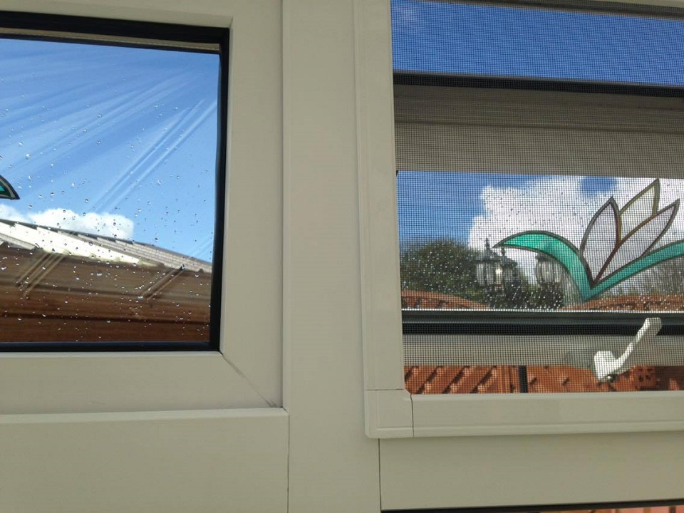 Hinged Fixed Frame Windows Goss Flyscreens