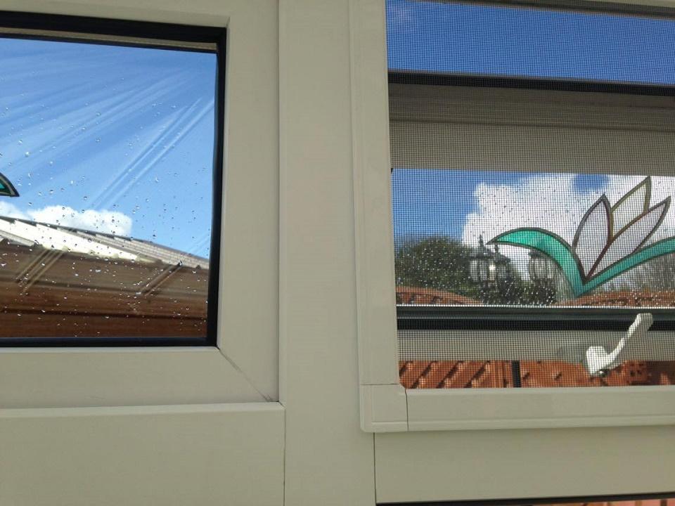 Fixed Frame Windows : Hinged fixed frame windows goss flyscreens