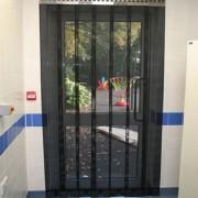 Mesh Strip Door