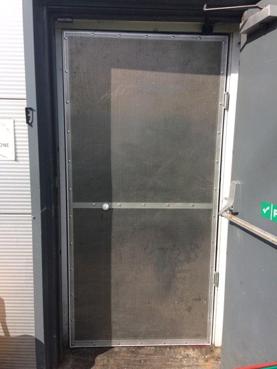 Double Swinging Screen Door Goss Flyscreens